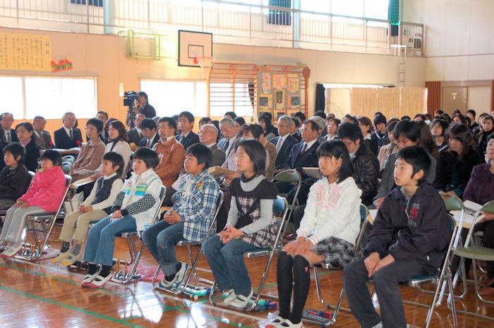 長谷小学校が閉校して8年が経過しました